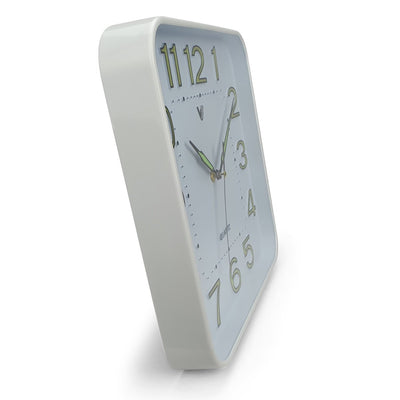 Victory Cordell Glow In The Dark Wall Clock White 30cm CJH 438 7