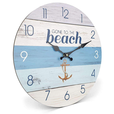 Victory Gone To The Beach Wall Clock 34cm CBA 423D 1