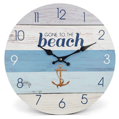 Victory Gone To The Beach Wall Clock 34cm CBA 423D 3