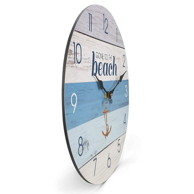 Victory Gone To The Beach Wall Clock 34cm CBA 423D 4