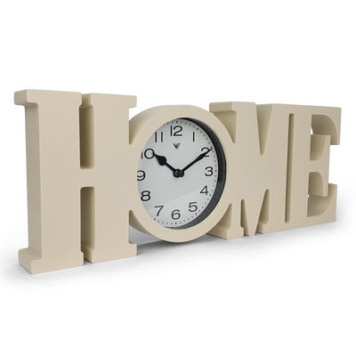 Victory HOME Wall or Desk Clock Cream 39cm CCL 480H 1