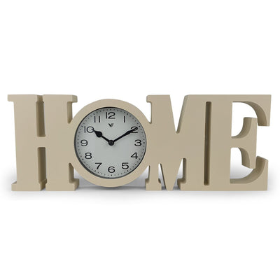 Victory HOME Wall or Desk Clock Cream 39cm CCL 480H 7