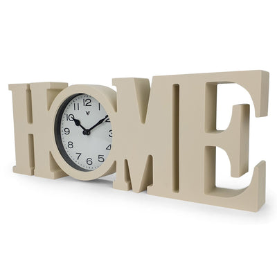 Victory HOME Wall or Desk Clock Cream 39cm CCL 480H 2