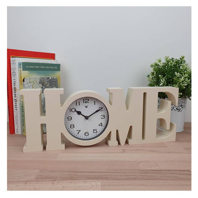 Victory HOME Wall or Desk Clock Cream 39cm CCL 480H 6