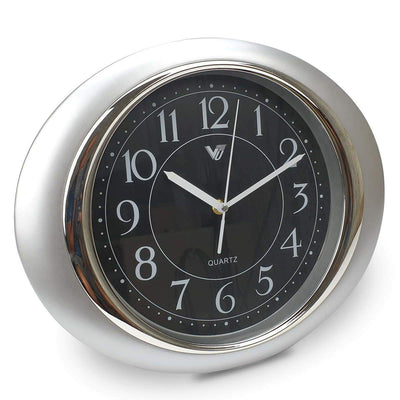 Victory Milly Eye Shaped Wall Clock Black 34cm CWH 360 B 1