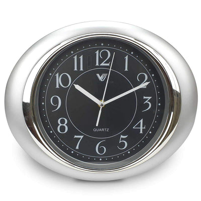 Victory Milly Eye Shaped Wall Clock Black 34cm CWH 360 B 3