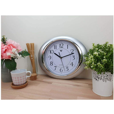 Victory Milly Eye Shaped Wall Clock White 34cm CWH 360 W 2