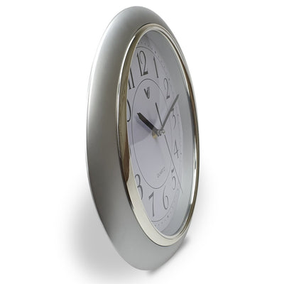 Victory Milly Eye Shaped Wall Clock White 34cm CWH 360 W 4