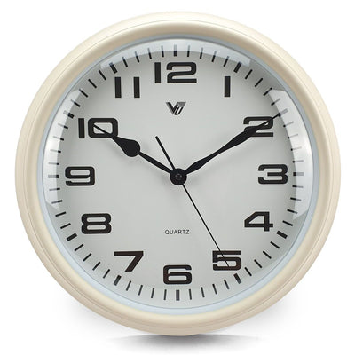 Victory Percy Classic Wall Clock Cream 37cm CCL 4135 CRE 7