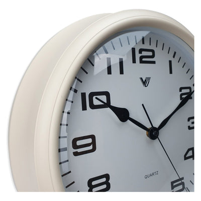 Victory Percy Classic Wall Clock Cream 37cm CCL 4135 CRE 3