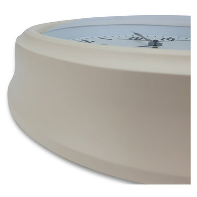 Victory Percy Classic Wall Clock Cream 37cm CCL 4135 CRE 4