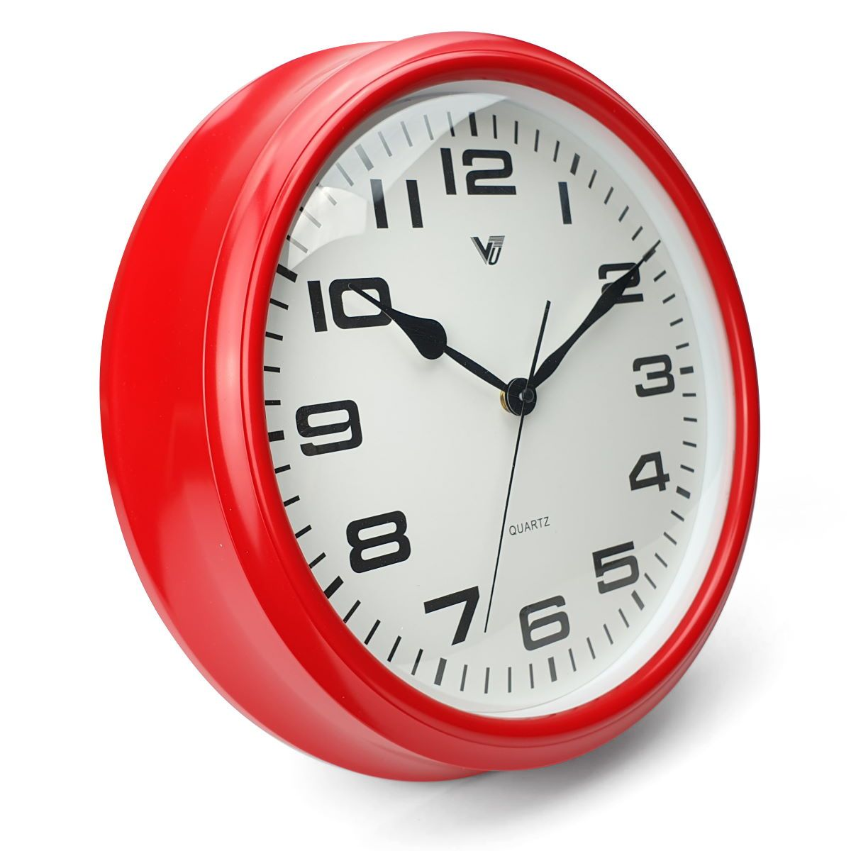 Victory Percy Classic Wall Clock Red 37cm CCL 4135 RED 1