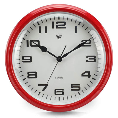 Victory Percy Classic Wall Clock Red 37cm CCL 4135 RED 7