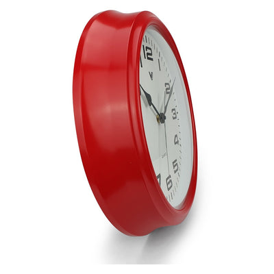 Victory Percy Classic Wall Clock Red 37cm CCL 4135 RED 2