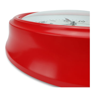 Victory Percy Classic Wall Clock Red 37cm CCL 4135 RED 4