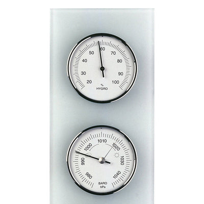 TFA Domatic Glass Weather Station Matte Finish 35cm 20.3020.02 Top