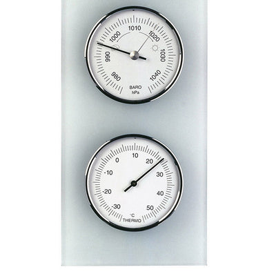 TFA Domatic Glass Weather Station Matte Finish 35cm 20.3020.02 Bottom