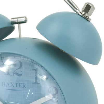 Baxter Billy Bubble Bell Alarm Clock Blue 14cm BB4 BLU 2