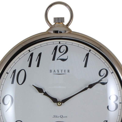Baxter Bling Fob Wall Clock Gold 43cm PW268 2