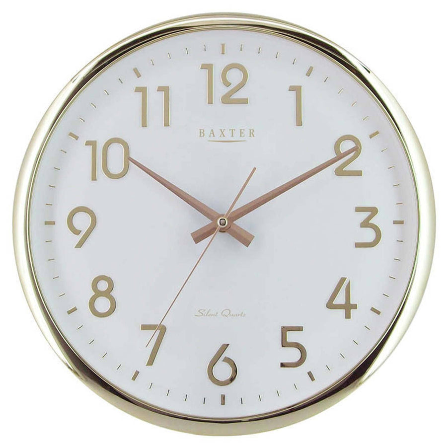Baxter Gold Wall Clock 32cm PW081