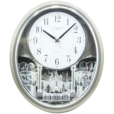 Baxter Jefferson Love Song Musical Pendulum Wall Clock 43cm PWA008 1