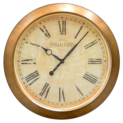 COBB Co Outdoor Antique Wall Clock Antique Roman 51cm OUTDOOR 2