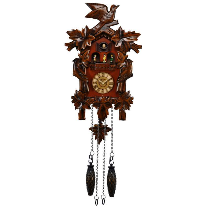 Cambridge Aliz Musical Dancers Wooden Pendulum Cuckoo Clock 44cm WW053 1