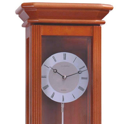 Cambridge Freddie Wooden Cabinet Wall Clock Cherry Wood 60cm WW016 2