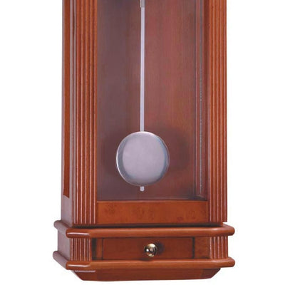 Cambridge Freddie Wooden Cabinet Wall Clock Cherry Wood 60cm WW016 3