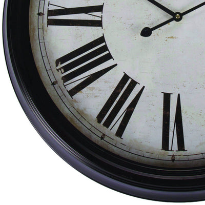 Casa Uno Grand Central Wall Clock 63cm Bottom ME13