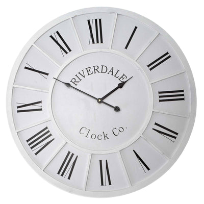 Casa Uno Riverdale Rod Wall Clock 60cm ME15 Front