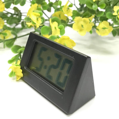 Checkmate Barker Mini Travel Digital Desk Clock Black 6cm VGW-614-BLA 2