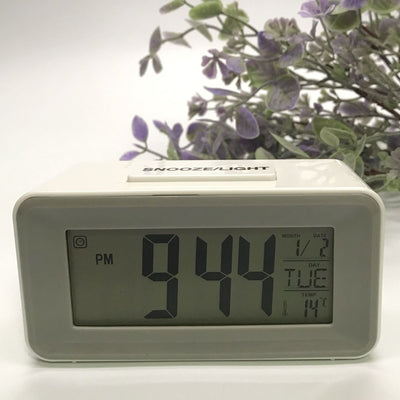 Checkmate Brycen Multifunction Digital Alarm Clock White 11cm VGW-3620-WHI 1