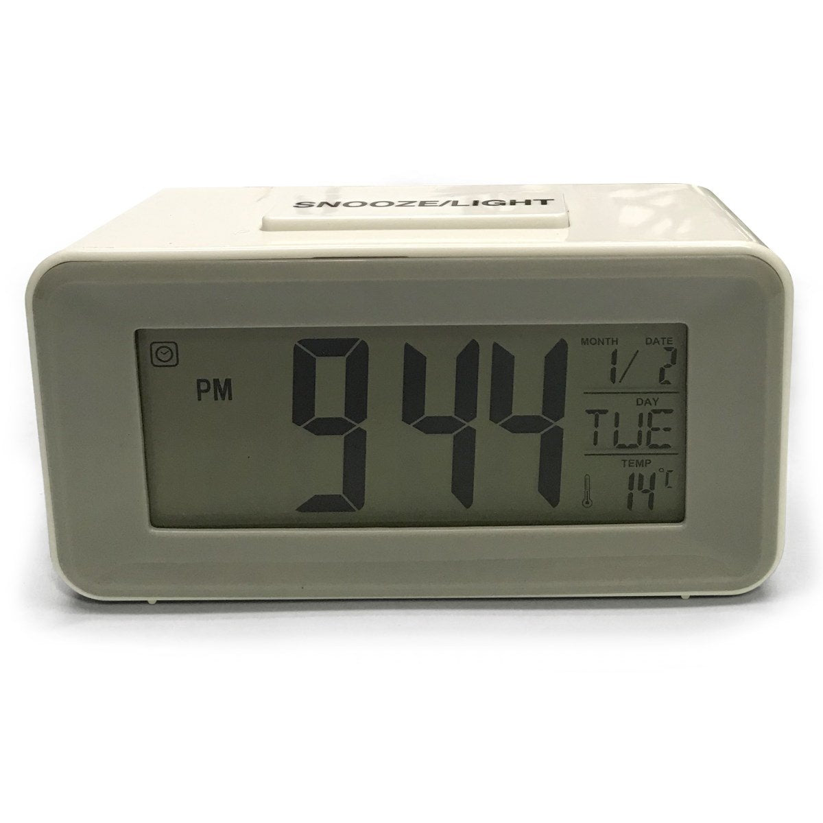 Checkmate Brycen Multifunction Digital Alarm Clock White 11cm VGW-3620-WHI 2