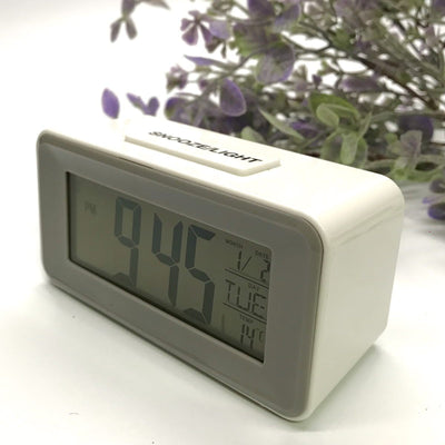 Checkmate Brycen Multifunction Digital Alarm Clock White 11cm VGW-3620-WHI 4