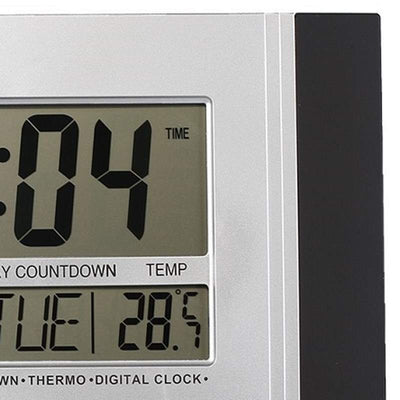 Checkmate Connerty Multifunctional Digital Wall Clock Black 29cm VGW 601Black 3