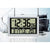 Checkmate Litt Jumbo LCD Calendar Temperature Wall & Desk Clock, 42cm
