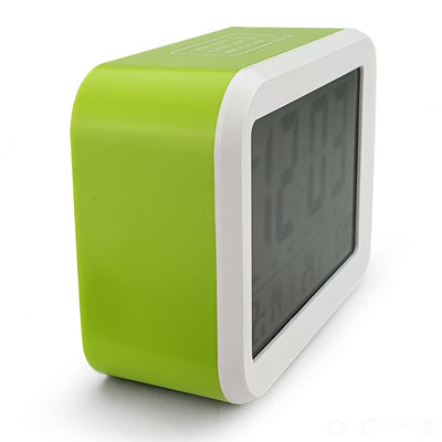 Checkmate Palmer Multifunction LCD Talking Alarm Clock Green 12cm VGW 9200 GRE 4