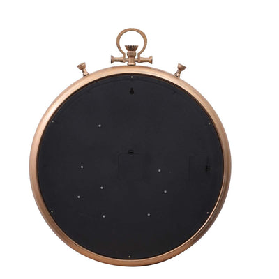Chilli Decor Champs Elysees FOB Watch Metal Moving Gears Wall Clock Gold 62cm TQ-Y637 8