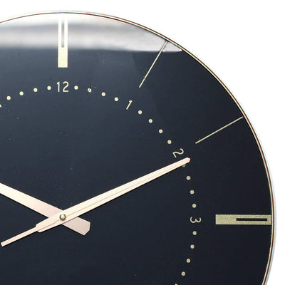 Christiana Estelle Black Wall Clock 45cm WJ096S 2