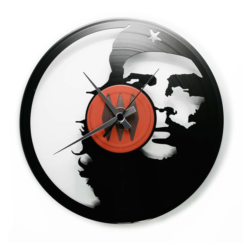DISC'O'CLOCK Vinyl Record Che Guevara Wall Clock 30cm DOC068
