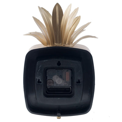 Divinity Square Pineapple Antique Metal Table Clock 26cm 44570 7