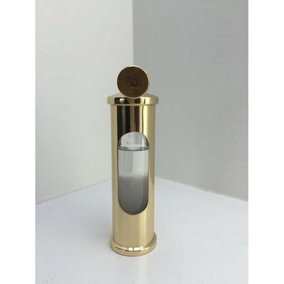 E.S.Sorensen Polished and Lacquered Brass Stormglass 15cm 550401 9