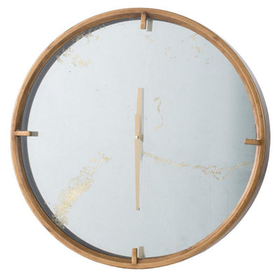 Elegant Designs Baltimore Mirror Wall Clock 50cm 20804 1