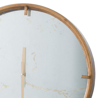Elegant Designs Baltimore Mirror Wall Clock 50cm 20804 2
