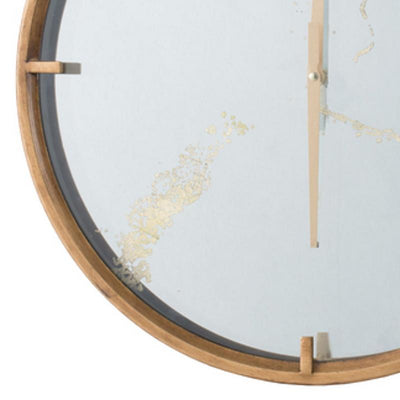 Elegant Designs Baltimore Mirror Wall Clock 50cm 20804 3