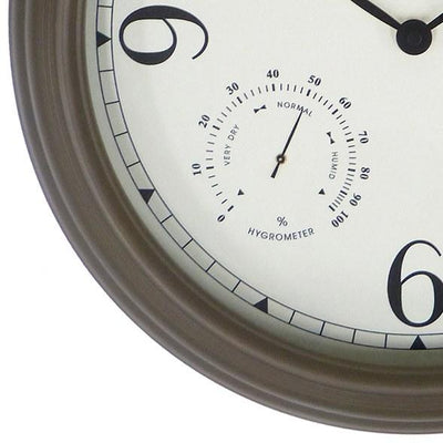 Leni Outdoor Wall Clock Old Gold 41cm 640002 3