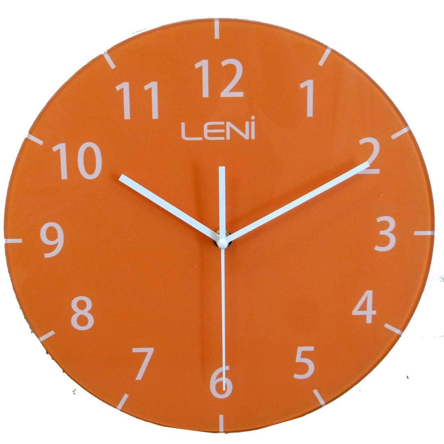 Wall clock orange choice image home wall decoration ideas orange wall clock australia buy leni clocks online oh clocks australia amipublicfo choice image amipublicfo Images