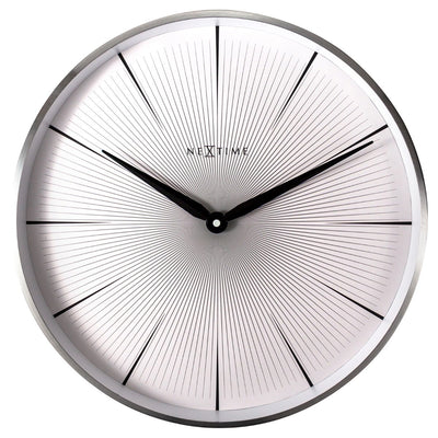 NeXtime 2 Seconds Wall Clock White 40cm 573511WI 2