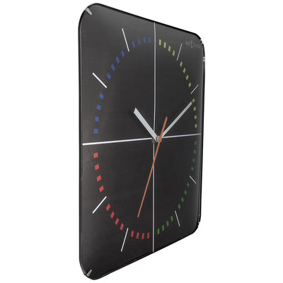 NeXtime 4 Seasons Wall Clock Black 35cm 573239 3